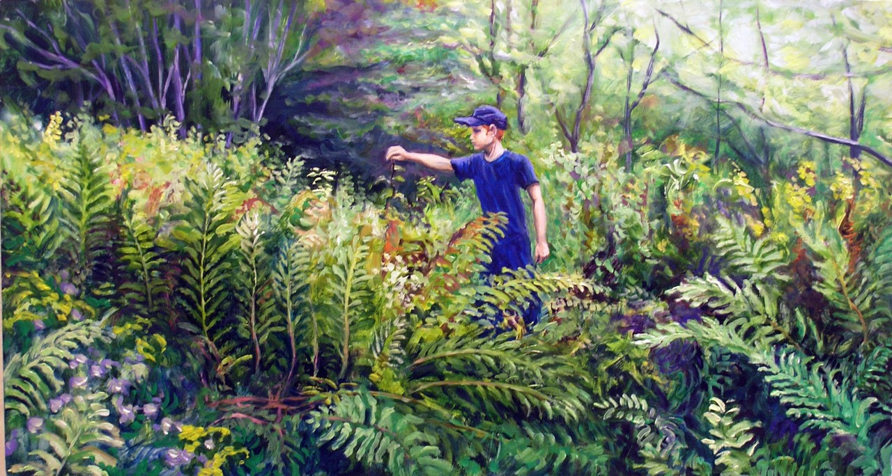Boy in the Ferns